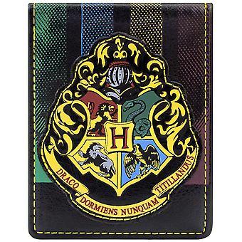 Warner Bros Harry Potter Hogwarts ID & Card Bi-Fold Wallet