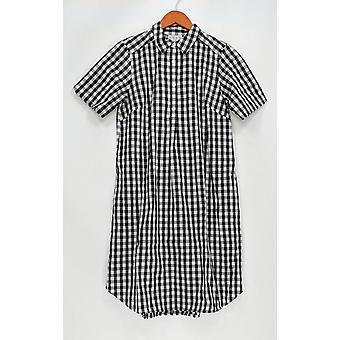 Joan Rivers Classics Collection Dress XXS Short Sleeve Black A304456