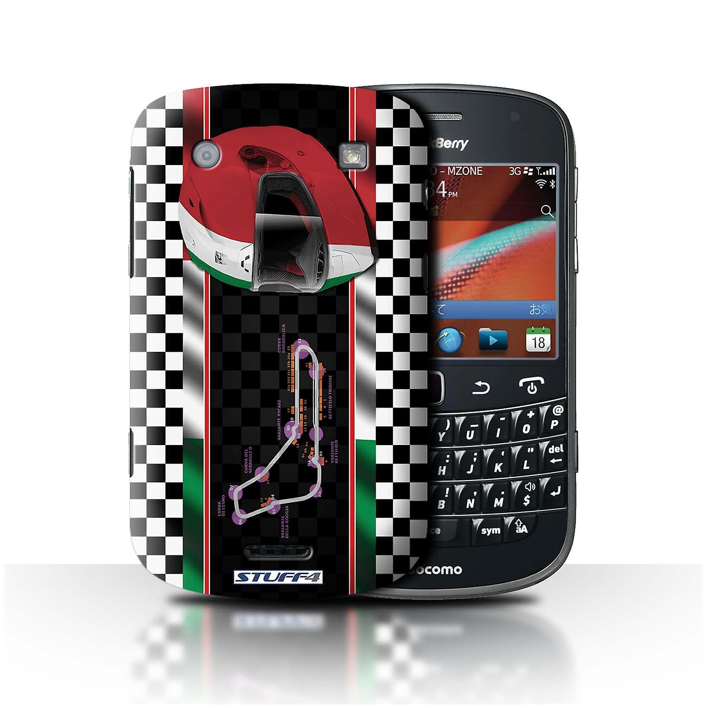 Stuff4 Case Cover For Blackberry Bold 9900 Italy Monza F1