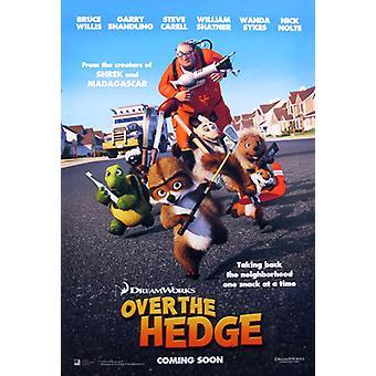 Über die Hecke (Doppelseitige internationale) Original Kino Poster