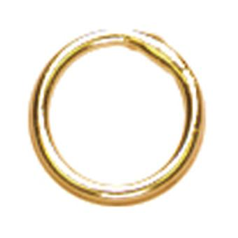 Gold Elegance 14K Gold Plated Beads & Findings 6Mm Closed Jump Ring 20 Pkg Ge29497 42