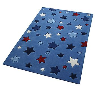 Alfombras - Smart Kids - Simple estrellas azul 3984-11