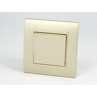أنا لموس كإطار واحد قوس البلاستيكية الذهبية الفاخرة 1 عصابة 2 طريقة الروك مفاتيح الإضاءة