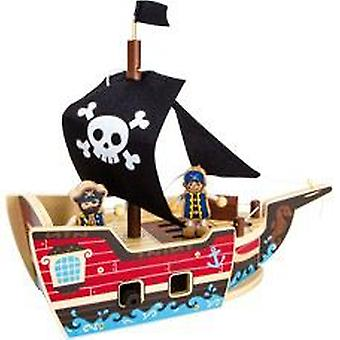 "Legler Construction Set ""pirate Ship"" (Babies , Speelgoed , Vehicles)"
