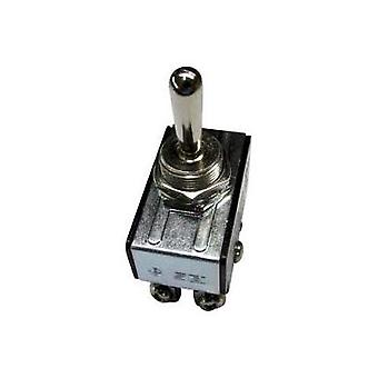 Toggle switch 250 Vac 10 A 2 x On/Off/On SCI R13-28E-06 latch/0/latch 1 pc(s)