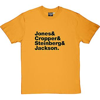 Booker T and the M.G.s Line-Up Men's T-Shirt