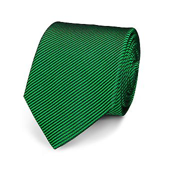 Marcell Sanders mens necktie silk tie green silk