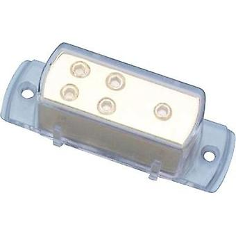Sinus Live Power distributor block, gold-plated/25mm² Sinuslive VB 1-4