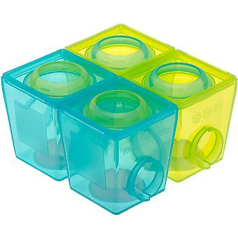 Brother Max 2nd Stage Weaning Pots (4 Pack)