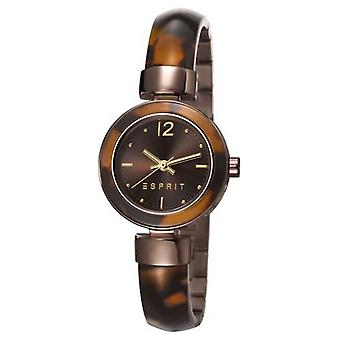 ESPRIT ladies watch bracelet watch Jody stainless steel Brown ES107712004