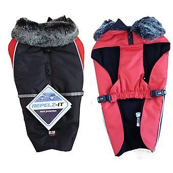 Dog Gone Smart Aspen Jackets Black / Red 8