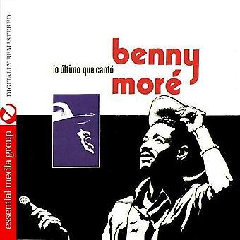 ベニー Mort - Lo ウルティモ Que カント [CD] USA 輸入