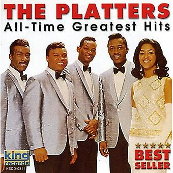 Platten - import All Time Greatest Hits [CD] USA