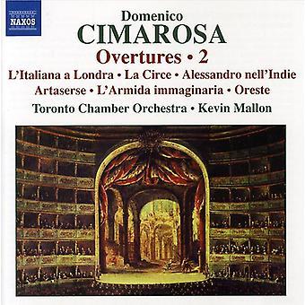 D. Cimarosa - Domenico Cimarosa: Overtures, Vol. 2 [CD] USA import