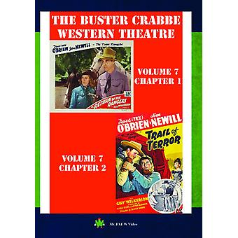 Buster Crabbe Western teater Vol 7 [DVD] USA import