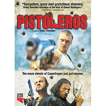 Pistoleros [DVD] USA importerer