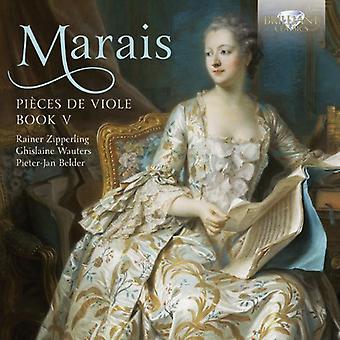 Marais:Piecesdeviole-Bookv(1725) - Marais: bitar de viole-bok v (1725) [CD] USA import