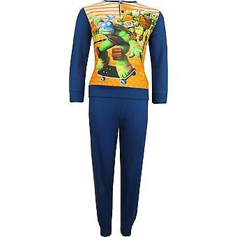 Boys Nickelodeon Ninja Turtles Long Sleeve Pyjama Set Packed in The Box