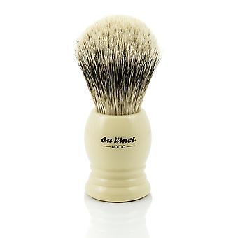 Pędzel do golenia Borsuk srebrnopłetwe programu da Vinci UOMO 298 | Ø20mm