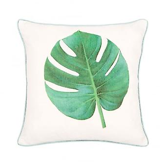 Boutique Camping Malini Monstera Cushion Green