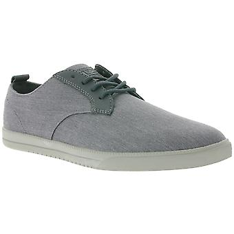 CLAE Ellington shoes men's lace-up shoes Grau CLA01246