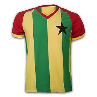 Ghana 1980\'s Short Sleeve Retro Shirt 100% cotton