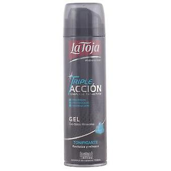 La Toja Triple Action barbering Gel Tonic 200 Ml