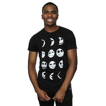 Disney Men's Nightmare Before Christmas Jack Moon T-Shirt