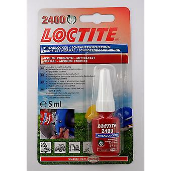 Loctite 2400 specificato blocco Thread di media resistenza & sigillante - Stud/Nutlock 5ml