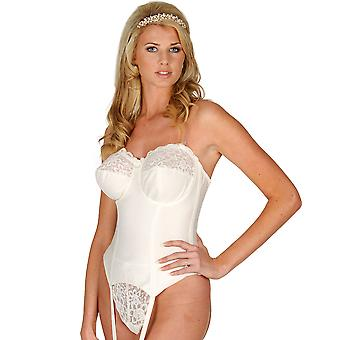 Silhouette Paysanne Pearl Strapless Multiway Basque 4056