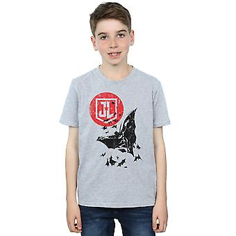 DC Comics Justice League-Film Batman Mond Sprung T-Shirt Boys