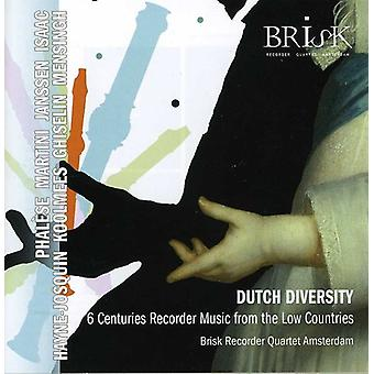 Brisk Recorder Qrt Amsterdam - Dutch Diversity [CD] USA import