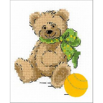 Little Bear Counted Cross Stitch Kit-5