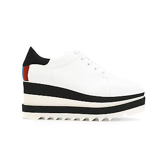 Stella McCartney women's 478958W1DT59096 White leather of sneakers