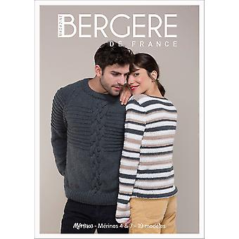 Bergere De France N (degree) 4-Special Issue Merinos 4 & 7 BF60410