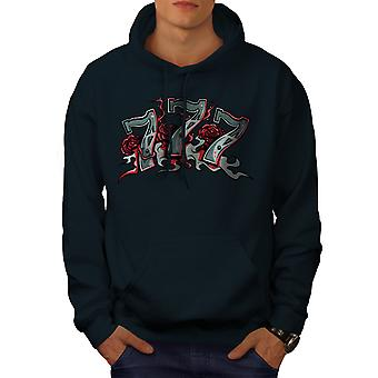 Game Gamble Poker Gamble Men NavyHoodie | Wellcoda