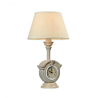 Maytoni Lighting Milea Elegant Collection Table Lamp, Grey