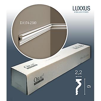 ORAC decor DX174-2300-box-10 1 box SET with 10 door surrounds baseboards | 23 m