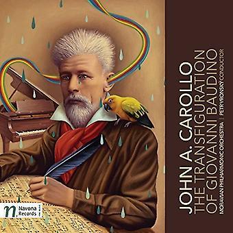 Carollo / ORQ Filarmónica de Moravia / Vronsky - Transfiguración de Giovanni Baudino [vinilo] USA import