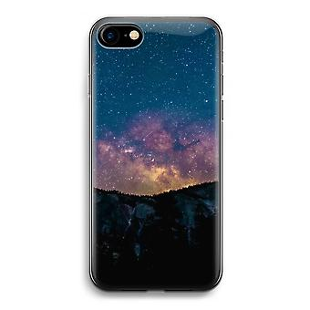 iPhone 7 Transparent Case (Soft) - Travel to space