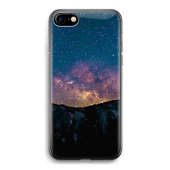iPhone 7 transparentes Gehäuse (Soft) - Reisen in Raum