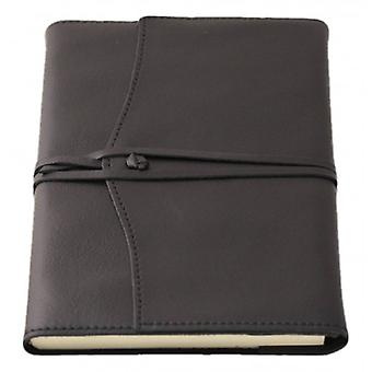 Coles Pen Company Amalfi Large Plain Refillable Journal - Black