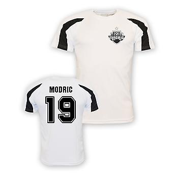 Luka Modric Real Madrid Sport Training Jersey (weiß) - Kinder