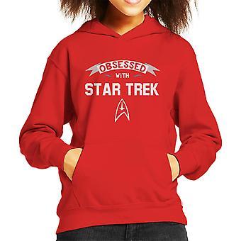 Obsessed With Star Trek Kid's Hooded Sweatshirt