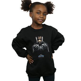 Marvel Girls Black Panther T'Challa Poster Sweatshirt