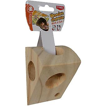 Tyrol Wooden Cheese (Small pets , Toys)