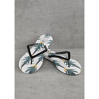 Women's Coconut Printed Flip Flops