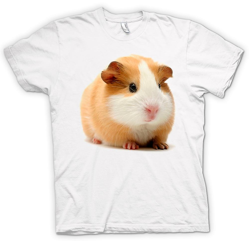Womens T-shirt - Guinea Pig - Blonde - Cute