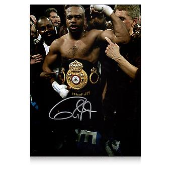 Roy Jones Jr signert boksing Foto