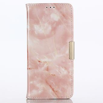 Wallet case Marble-iPhone 8